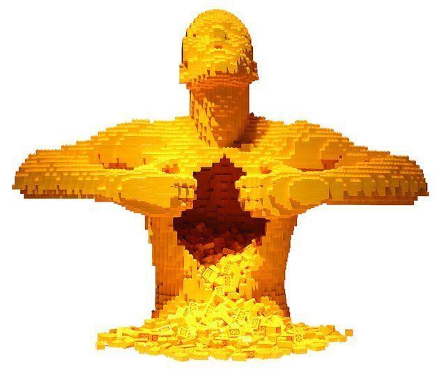 the art of the brick, Grégory Le Godais, 5ème D