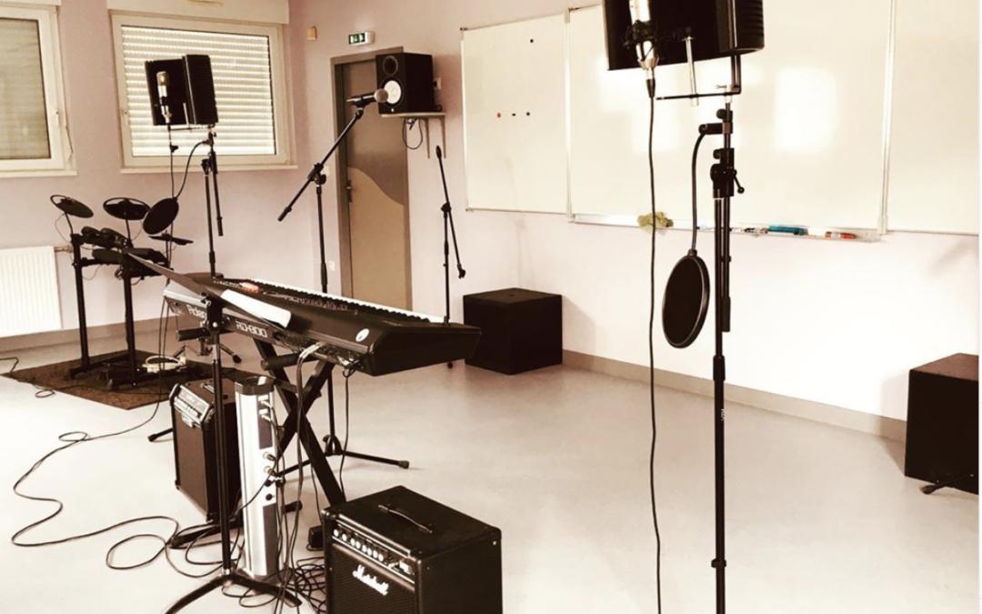 Représentations «live» des ateliers musiques actuelles